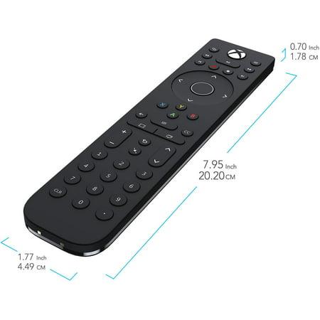 PDP Talon Media Remote Control for Xbox One, TV, Blu-ray & Streaming Media (Refurbished)