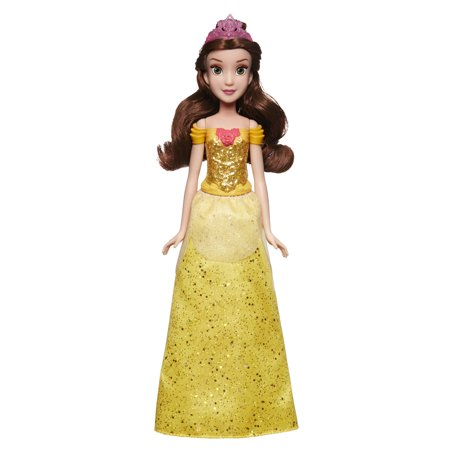 Belle Plush Doll - Disney Princess Royal Shimmer Belle, Ages 3 and up