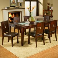 Alpine Furniture Lakeport 7 Piece Dining Set with Optional Server