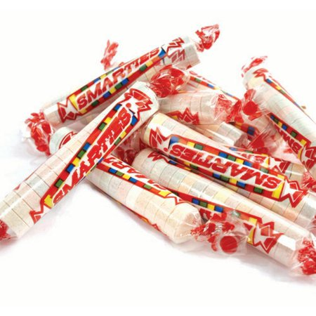 Smarties Candy Rolls 1 pound smarty candy bulk wrapped candy for $<!---->
