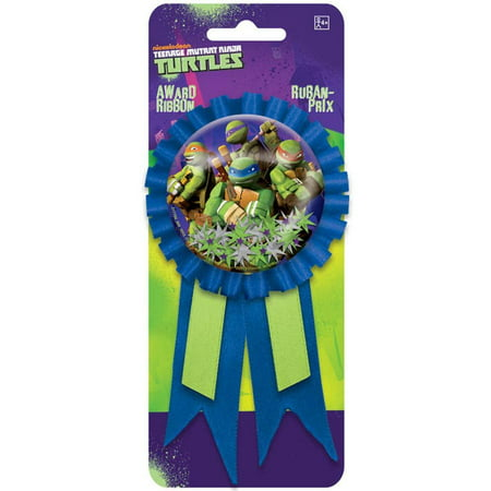 Teenage Mutant Ninja Turtles Ribbon Badge, 5.5in. - Teenage Mutant Ninja Turtle Party Ideas