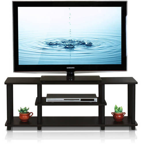 "Furinno Turn-N-Tube 3-Tier TV Stand for up to 55"" TV, Multiple Colors by Furinno"