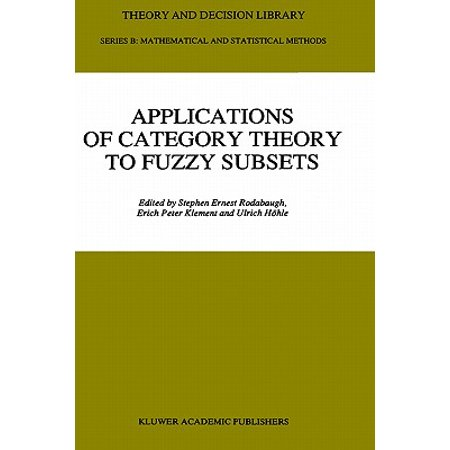 Applications of Category Theory to Fuzzy Subsets Applications of Category Theory to Fuzzy Subsets