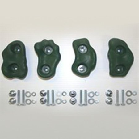 Eastern Jungle Gym Climbing Rock Wall Hand Holds - Set of 4