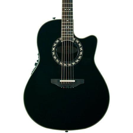 Ovation Legend 2077AX Acoustic Electric Guitar (Black)