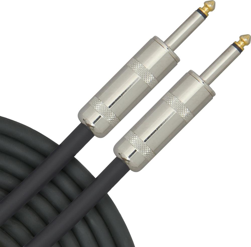 "12-Gauge 1/4"" - 1/4"" Speaker Cable"