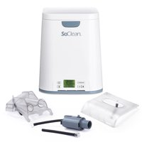 SoClean 2 CPAP Cleaner & Sanitizer (With 3 Adapters Included)