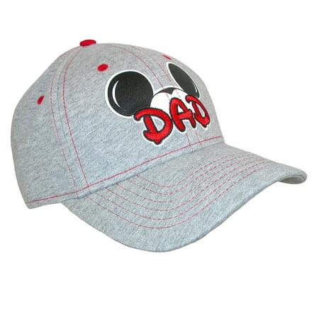 b1a2c566d07cc Disney Men s Cotton Mickey Mouse Dad Fan Baseball Cap - image 1 ...