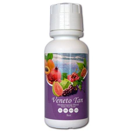 Tampa Bay Tan  Veneto Mediterranean Blend  Organic And Natural Cool Violet Toned Professional Self Tanning Spraytan Solution  Medium 8    Best For Med Skin    8 Oz