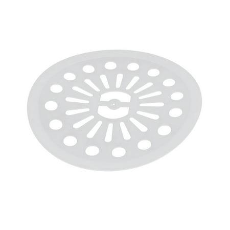 22cm Dia Plastic Semi Automatic Washing Machine Spin Cap Cover White
