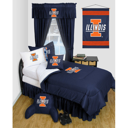 Sports Coverage Inc. NCAA North Carolina Bed Skirt