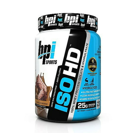 BPI Sports ISO HD, Chocolate Brownie, 1.6 Lb
