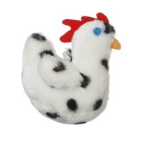 """Multipet Look Who's Talking Chicken Dog Toy - 5.5"""""""