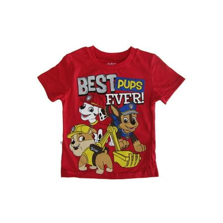 Nickelodeon Little Boys Red Paw Patrol
