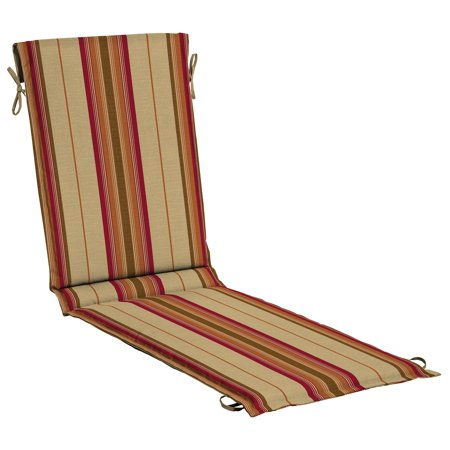 Better Homes & Gardens Southwest Tan Cambaya Stripe Sling Chaise Cushion, 22 in.W x 78 in.D x 2 in.H 2 Piece Chaise Cushion