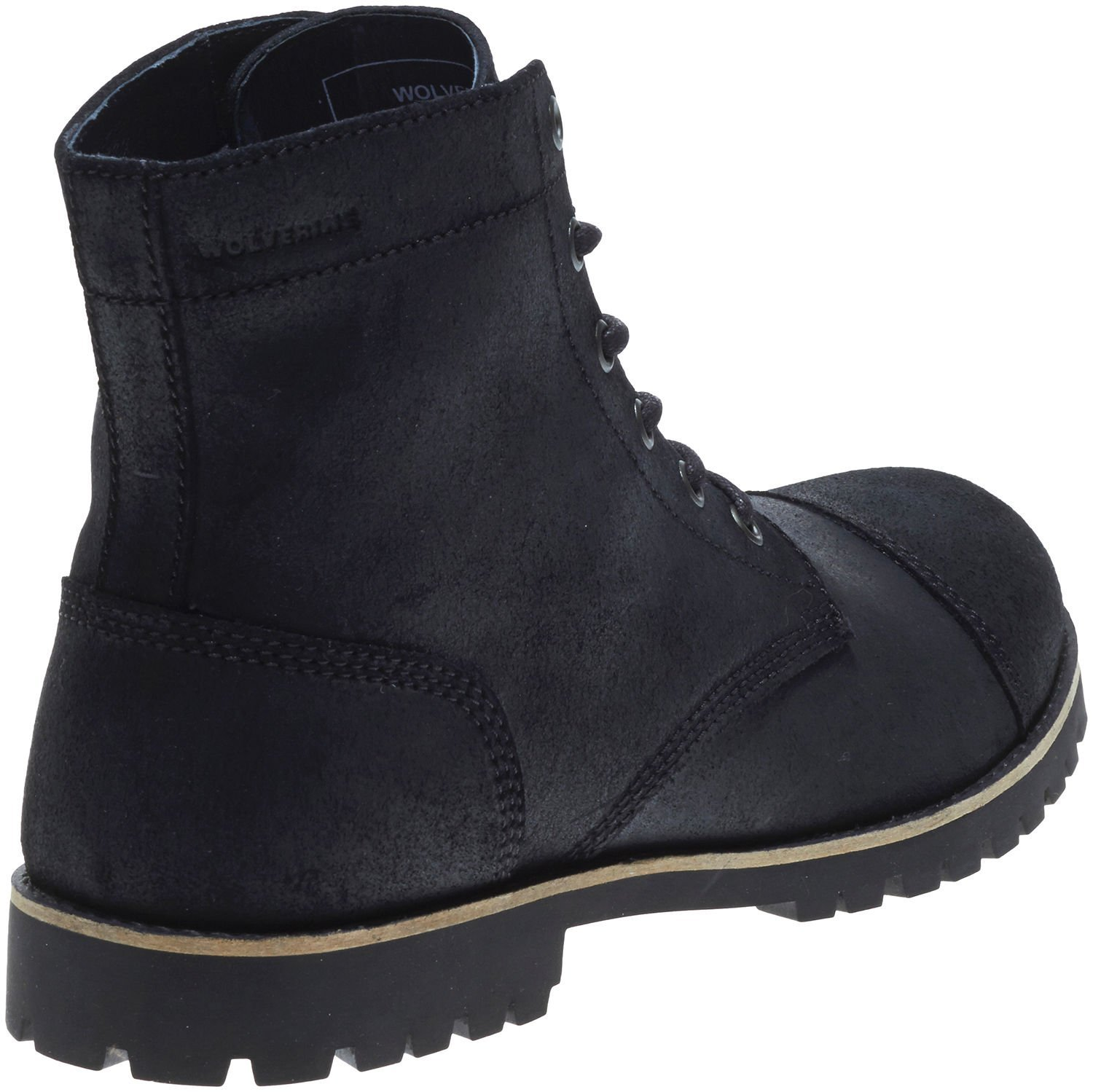092814956aa Wolverine Men's Black Leather Wilbur WPF Leather Boot 11 D(M) US