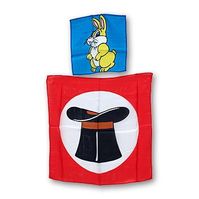 Rabbit Silk (9 inch Silk Rabbit from 18 inch Hat Silk -)