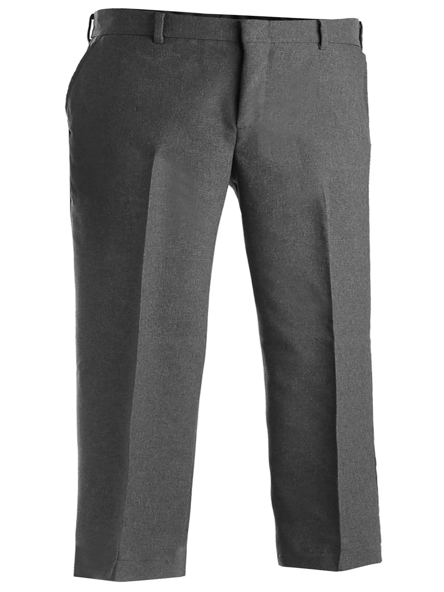 Edwards Garment Men's Flat Front Wrinkle Resistant Dress Pant, Style 2290