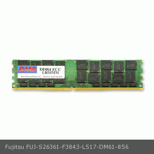 DMS Compatible/Replacement for Fujitsu S26361-F3843-L517 PRIMERGY RX2530 M1 32GB DMS Certified Memory DDR4-2133 (PC4-17000) 4096x72 CL15  1.2v 288 Pin ECC Registered DIMM - DMS 32 Dimm Memory Carrier