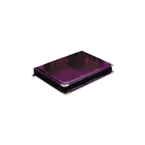 MMF INDUSTRIES Portable Key Zipper Case,8-7/8x1-3/8x11-7/8,48-Key Cap,BY