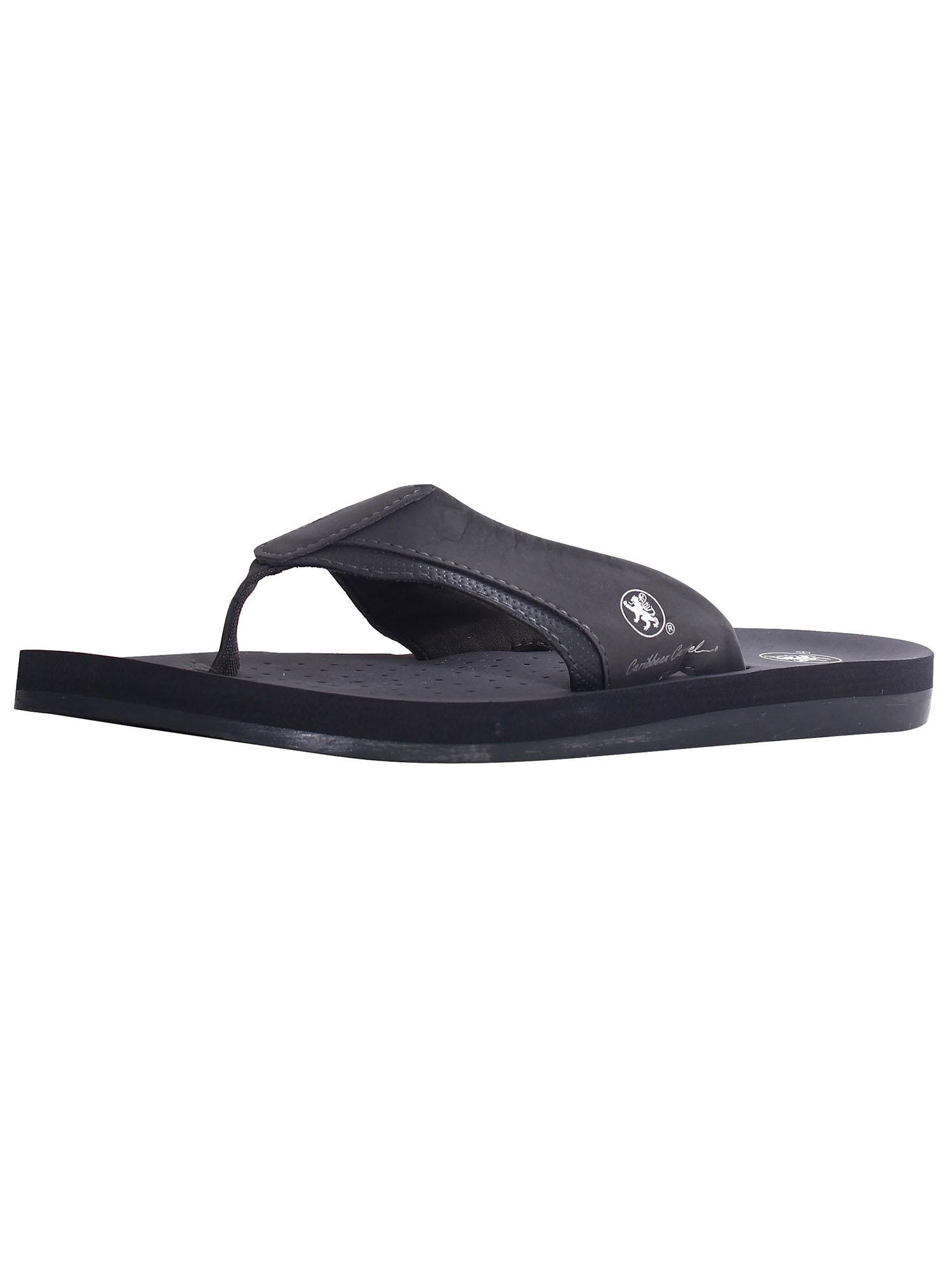 Men's Comfort Strap Poolside Beach Flip Flop Sandals, 5577M_Grey, 12(Medium)