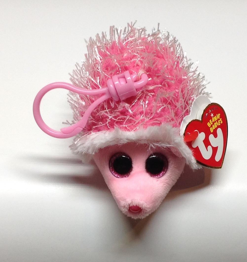 Ty Inc Beanie Boo Plush Stuffed Animal Mrs Prickly Pink Hedgehog