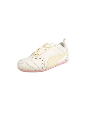 Product Image Puma Toddler Infant Girl s Shoes Sela Diamond Off White Pink 2a15930bdf226