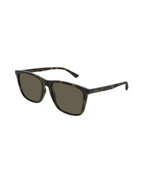 e96395f9bc1 Product Image Gucci GG0404S 009 Sunglasses Dark Havana Brown Frame Green  Lenses 58mm