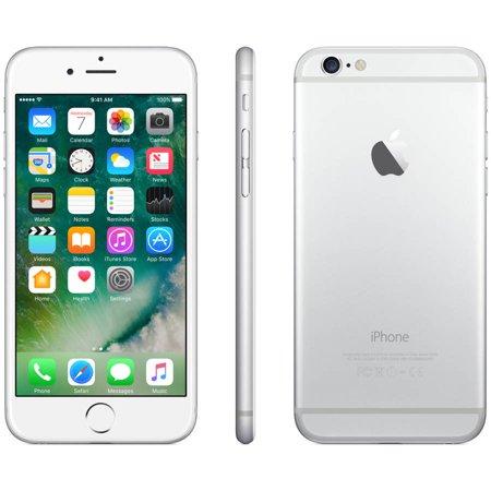 apple iphone 6 64gb lte unlocked silver refurbished. Black Bedroom Furniture Sets. Home Design Ideas