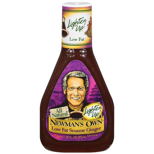 Newman's Own: Low Fat Sesame Ginger Dressing, 16 Oz