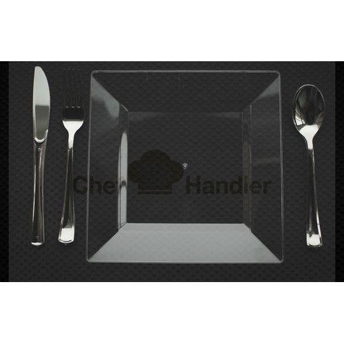 chef handler imperial 1320piece guest bundle high end plastic dinnerware set