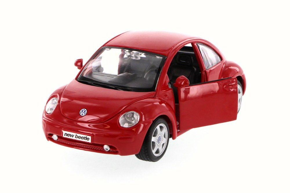 Volkswagen New Beetle, Red Maisto 31975 1 24 Scale Diecast Model Toy Car by Maisto