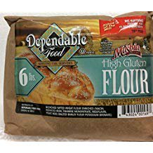 Masbia Dependable Food High Gluten Flour 6 LB 96 Oz. Pack Of 3. 6 Lb Pick Head