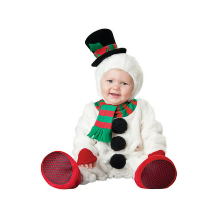 Silly Snowman Baby Christmas Costume