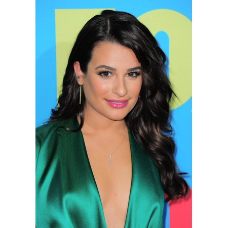 Lea Michele At Arrivals For Fox 2014 Programming Presentation Fanfront Arrivals Canvas Art     16 X 20