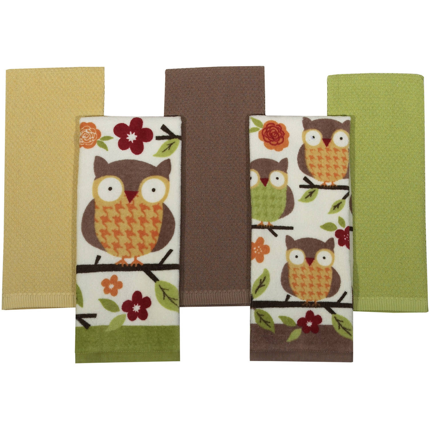 Kitchen Towel Set, 5-Pack