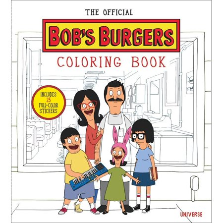 The Official Bob's Burgers Coloring Book](Halloween Burger Of The Day Bob's Burgers)