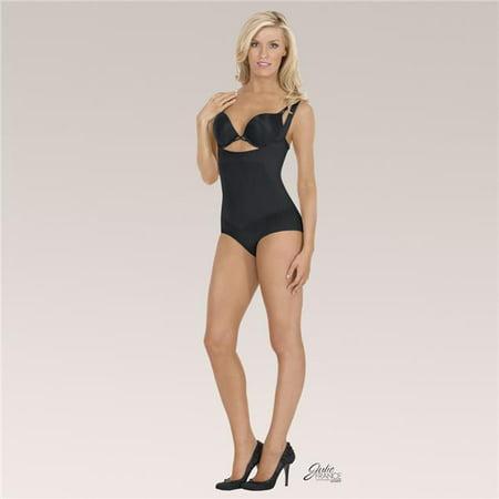 ac588c345aff EuroSkins JFL00-B-XL Julie France Leger Frontless Panty Shaper, Black -  Extra ...