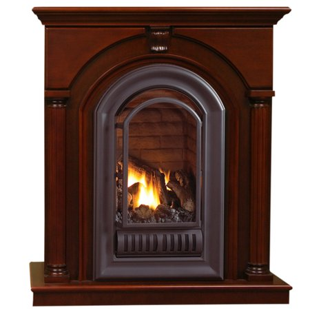 HearthSense Natural Gas Vent Free Gas Fireplace 20 000