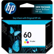 HP 60 Tri-color Original Ink Cartridge (CC643WN)