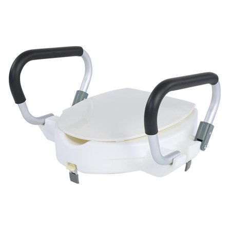 Lv Life 10cm Elevated Raised Toilet Seat With Lid