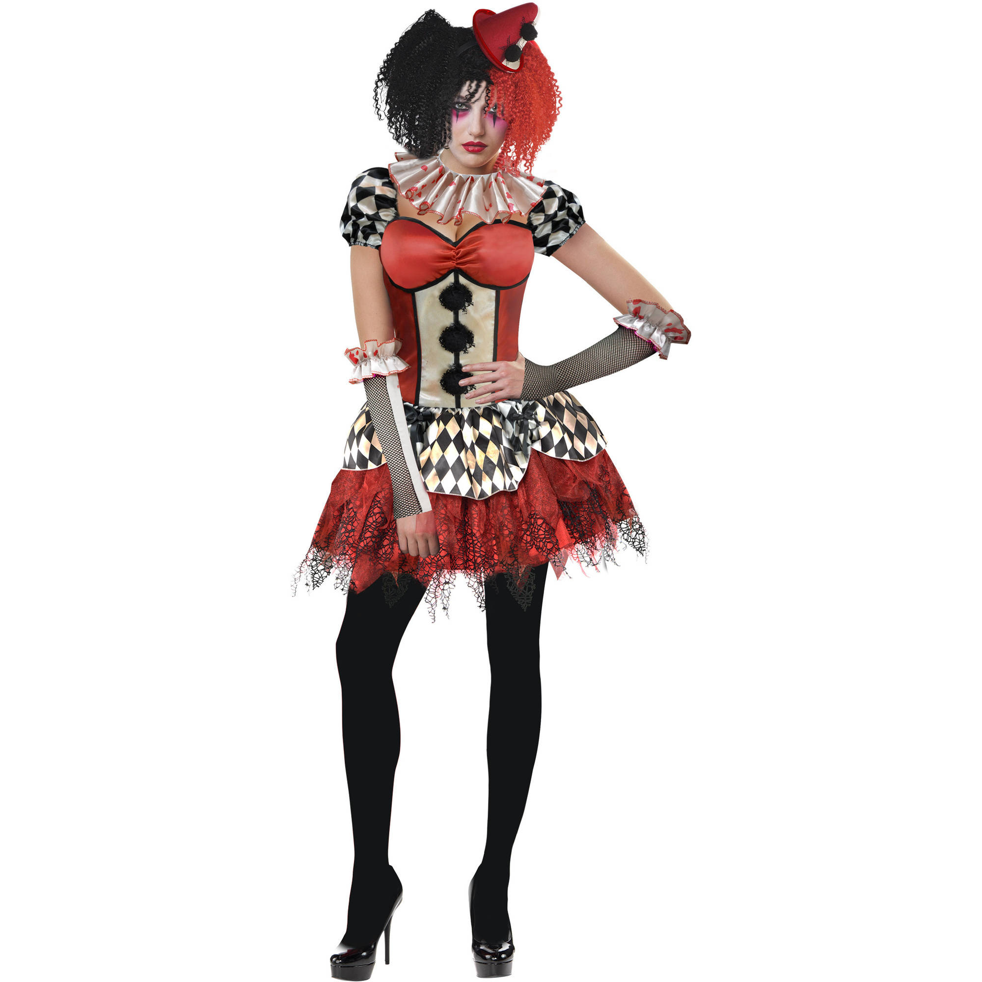Freakshow Clown Adult Halloween Costume
