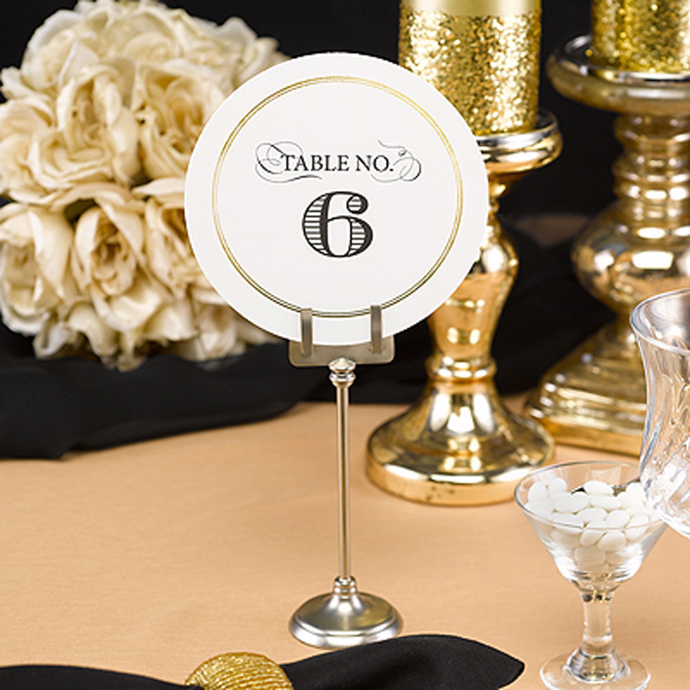 Elegance Table Numbers