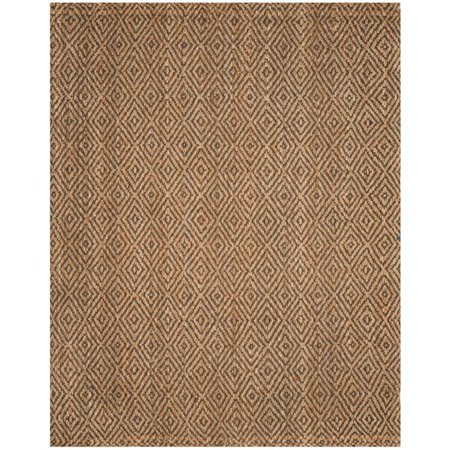 Hawthorne Collection 4' X 6' Hand Woven Jute Rug in Natural and Gray - image 1 of 2