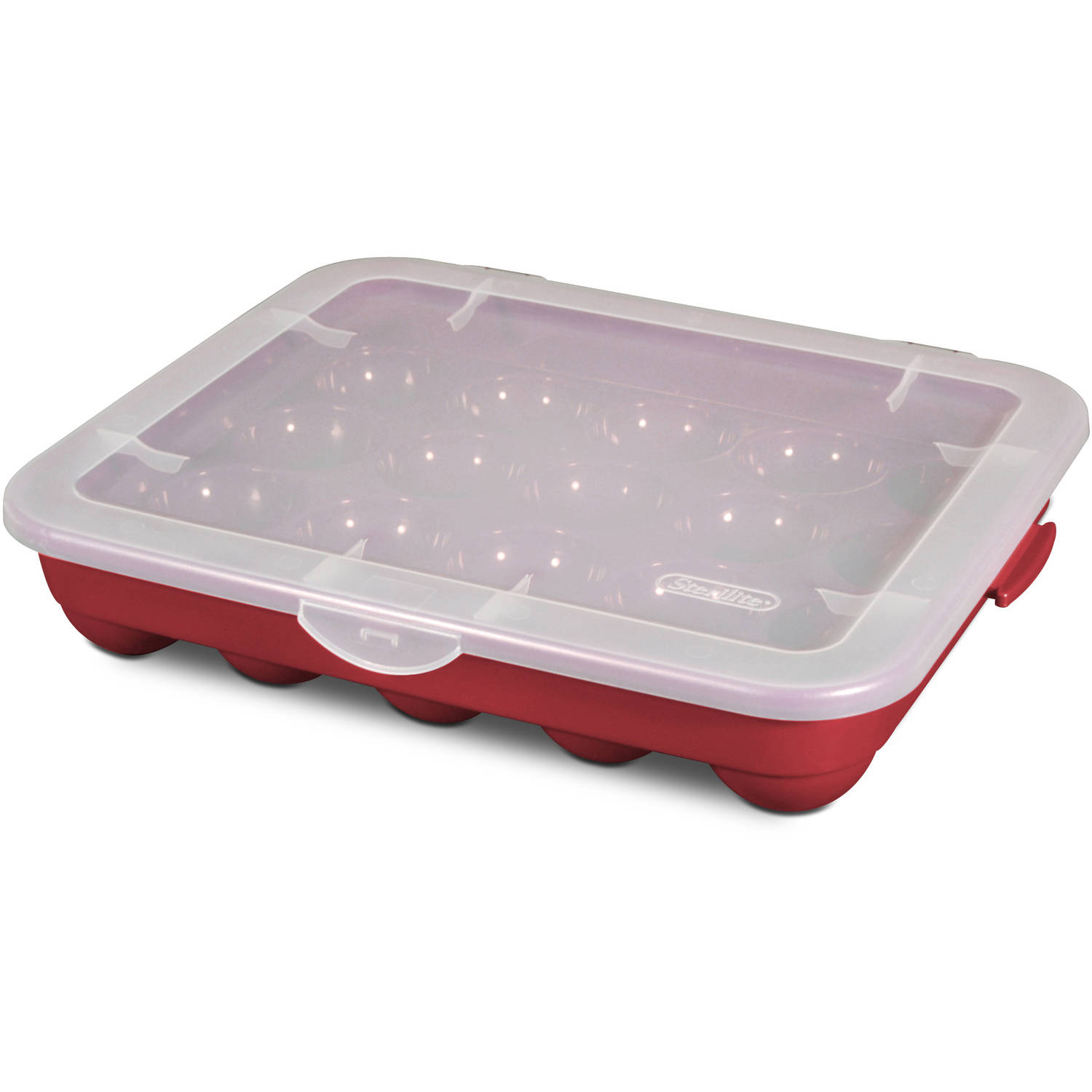 Sterilite Ornament Case, Infra Red (Available in Case of 6 or Single Unit)
