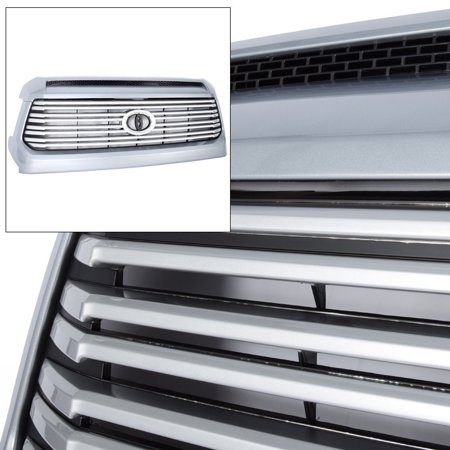Platinum Style Front Grille with Hood Bulge Molding 1D6 For Toyota Tundra 14-18