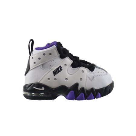 innovative design 0d5cb 3c623 Nike - Nike Air Max CB 94 (TD) Toddlers Baby Infant Shoes WhiteBlack- Purple 408886-105 (8 M US) - Walmart.com