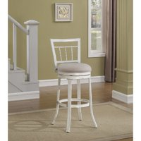 """Palazzo 26"""" Swivel Counter Stool in Antique White"""