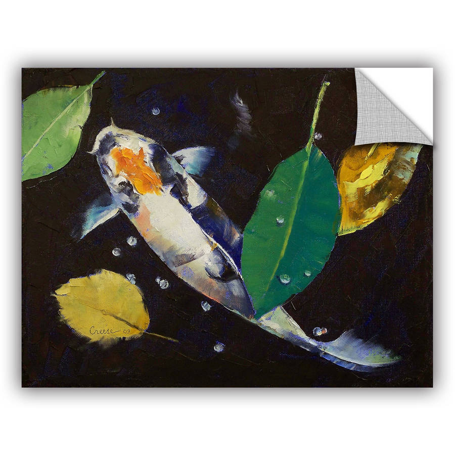 "ArtWall Michael Creese ""Kumonryu Koi"" ArtAppealz Removable Wall Art"