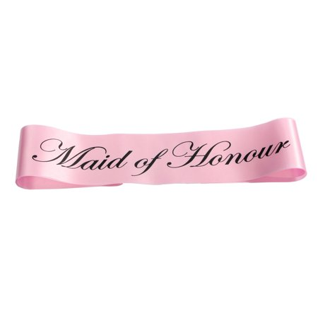 Party Sashes Girls Night Out Accessory Wedding Light Pink Sash Collections - image 4 of 5